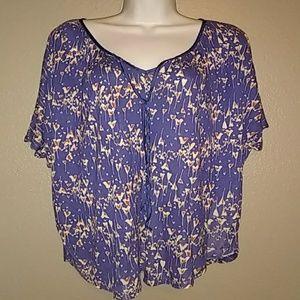Lauren Conrad pullover blouse.